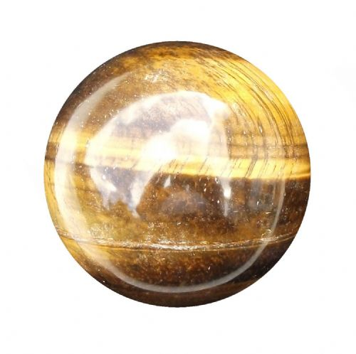 Tiger Eye Fortune Telling Gemstone Crystal Ball 48mm 150g (TE8)